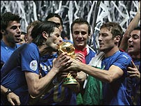 Italy won the 2006 World Cup