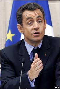 French President Nicolas Sarkozy, AFP