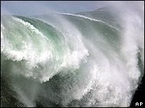Breaking wave (Image: AP)