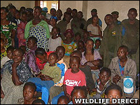 A local meeting (Image: WildlifeDirect)