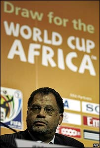 South Africa's 2010 Local Organising Committee chairman Danny Jordaan