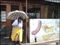 Shopper in Soweto, Johannesburg