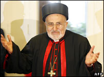 Iraq's Chaldean Church Patriarch Emmanuel. Photo: 23 November 2007