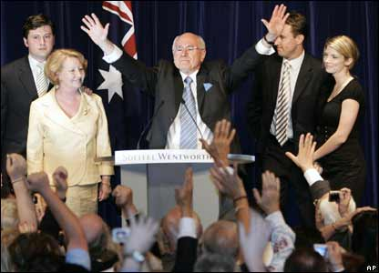 John Howard at a Sydney hotel, 24 Nov 2007