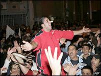 Anti-Lahoud gathering in Beirut, 23 Nov 2007