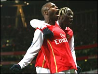William Gallas and Bacary Sagna