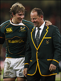 Francois Steyn and Jake White