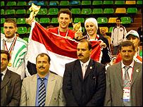 الفريق السوري الفائز بمختلط الريشة