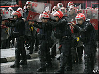 Malaysian riot police (File picture)