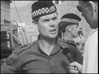 Lt Col Colin Mitchell in Aden
