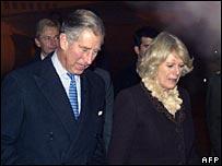Charles and Camilla arrive at Ankara Esenboga Airport