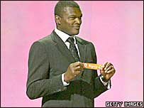 Former France Captain Marcel Desailly at the 2010 World Cup draw