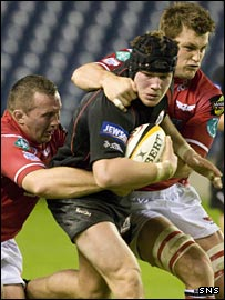 The Scarlets completed a 100% losing return from the Welsh regions as they crashed to defeat at Edinburgh