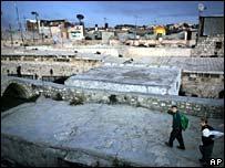 Rooftops in old Jerusalem