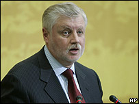 Russian Council of Federation Speaker, Sergei Mironov