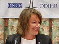 Urdur Gunnarsdottir, OSCE spokeswoman