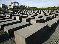 Holocaust memorial in Berlin (file image)