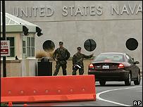 todo listo en la base naval de Annapolis