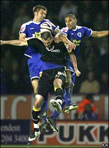 A photo from a match between Leicester City and Cardiff City in Leicester