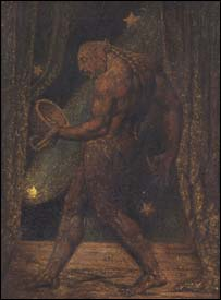 William Blake's The Ghost of a Flea, circa 1819-20, courtesy of Tate Britain