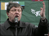 Yabloko leader Grigory Yavlinsky