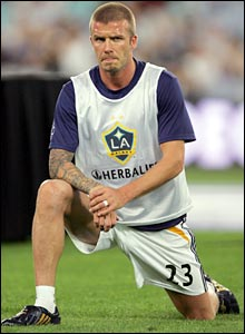 The tour opens on Tuesday, with Beckham and the LA Galaxy taking on Sydney FC