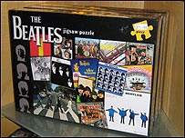Jigsaw on sale at the Beatles Story