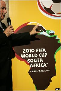 Sepp Blatter at Soccerex
