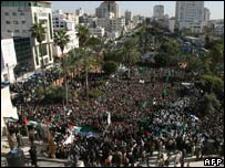Demonstration in Gaza