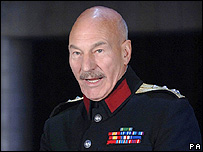 Patrick Stewart as Macbeth