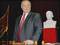 Лидер КПРФ Геннадий Зюганов (фото 22 сентября)