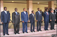 CEMAC summit in N'Djamena, 25 Apr 07