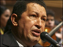 Hugo Chavez (25 November 2007)