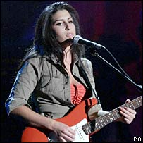 Amy Winehouse in 2004