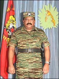 Tamil Tiger leader Prabhakaran