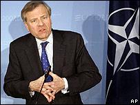 Nato head Jaap de Hoop Scheffer