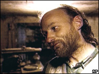Undated video grab of Robert Pickton