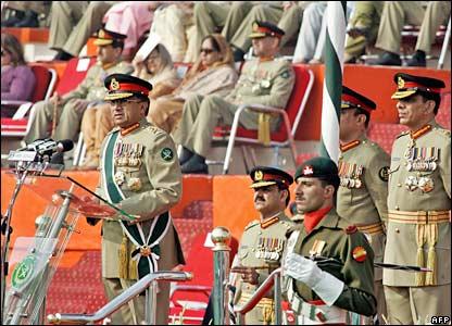 Gen Musharraf speaks in Rawalpindi