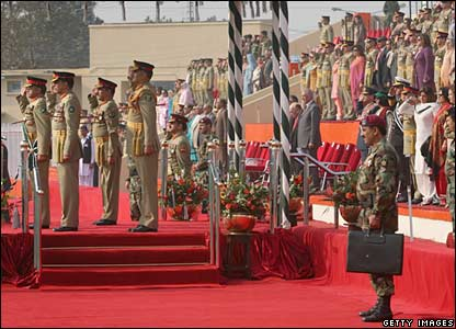 The handover ceremony in Rawalpindi