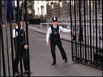 Gates to Downing Street