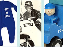 Items from the Kent Police online shop