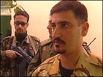 Abdul Abed, Sunni militia leader