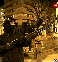 Police in Villiers-le-Bel