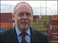 Frank Robotham,  group marketing director of Peel Ports