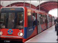 Docklands Light Railway, BBC