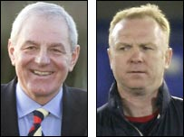 Walter Smith (left) and Alex McLeish