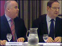 Anthony Marsh, WMAS chief executive and Sir Graham Meldrum, WMAS NHS Trust chairman