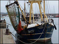 Trawler photo by Kim Bowden