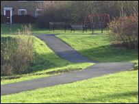 A path in Fairford Leys