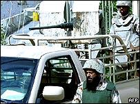 قوات أمن سعودية